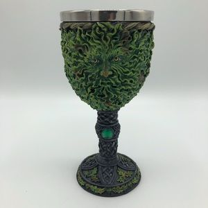 The Green Man Goblet